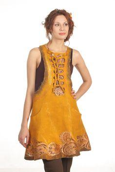 Mackenna's Gold / Felted Clothing / Dress