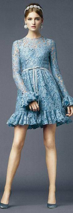 Dolce & Gabbana, Spring/Summer 2014, Blue