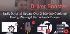 Driver Booster keeps a large driver database, and it offers quick & safe driver updating. It's available for free(30-days trial), but also has the pro version with a 65% discount. #driverupdaters #driverupdating #freesoftware #softwarereview #discount #software #utility #freedownload #friverboosterreview Pro Version, 30 Day, Being Used, Software, Free