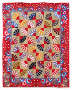 nifty quilts: Dancing with Fans