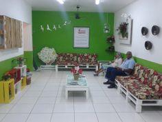 Sala da Secretaria do Meio Ambiente em duque de Caxias Rio de Janeiro, decorada com nossas peças.