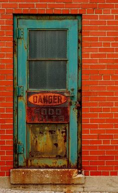Warehouse Door in Windsor, Ontario, Canada | Entry Photography | Buildings & Urban Environments