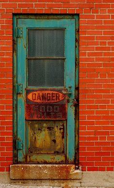 Warehouse Door in Windsor, Ontario, Canada