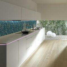 Carrelage mosa/ïque r/étro vintage blanc translucide effet verre pour salle de bain ou WC Blanc
