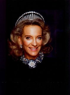 A formal portrait of Princess Michael of Kent | Flickr - British Monarchy