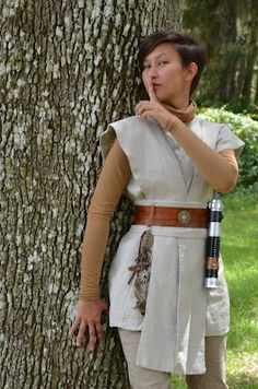 Pandas, Lightsabers and Cameras, oh my: Updated Jedi Costume