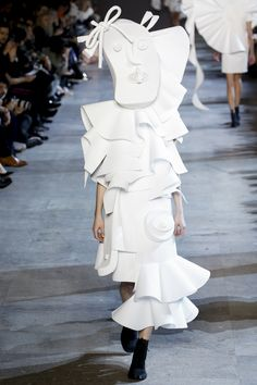 This confirms my theory that high fashion is one giant prank....Viktor & Rolf Spring 2016 Couture Collection Photos - Vogue