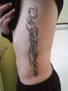 Maybe this is now my favourite only god can judge me tattoo but do remember you tattoo lovers, only God can judge you!