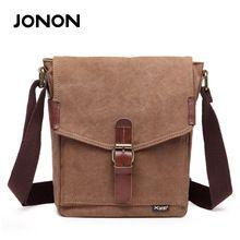 JONON Fashion Canvas Casual Men Messenger Bags Unisex Travel Shoulder Rucksacks…