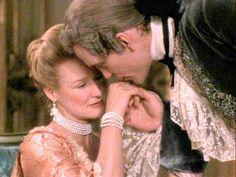 John Malkovich as Vicomte Sebastian de Valmont, being wickedly seductive in Dangerous Liaisons
