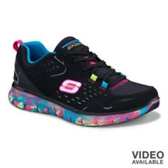 Skechers Synergy Perfect Color Athletic Shoes - Women