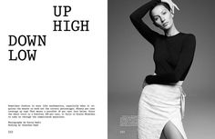 Down Low Up Hight (The Gentlewoman)