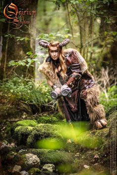 Photoshoot 2015 : Celtic battle faun 4 by Deakath on DeviantArt Nature Secret, Dances With Wolves, Unique Symbols, Celtic Warriors, High Priest, Cosplay Characters, Barbarian, Cosplay Costumes, Cosplay Ideas