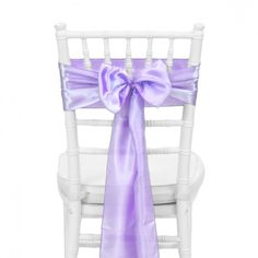 Satin Chair Sash - Lavender [404118] : Wholesale Wedding Supplies, Discount Wedding Favors, Party Favors, and Bulk Event Supplies