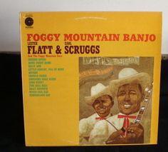 Lester Flatt & Earl Scruggs Foggy Mountain Banjo Lp Near Mint | Vintage LPs | Lexington, Kentucky 40504 | AudiogoN - The High-end Audio Community