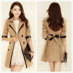 Aliexpress.com : Buy 2013 autumn summer new style fashion trench slim trench women's gentlewomen trench womens trench coat from Reliable trench coat suppliers on Fashion Household Goods Store. $40.00