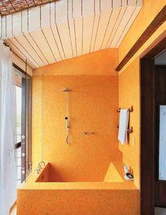 banheira concreto