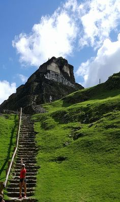 """Travel the beautiful hummingbird highway then climb the magnificent Xunantunich Mayan ruin, also known as the """"Maiden of the Rock"""". It stands 130 feet high, the second tallest Mayan ruin in Belize, and gives a panoramic view of the Cayo District, Guatemala and the Mopan River. On your way back stop at the inland blue …"""