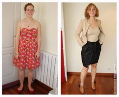 Changement de Look complet et conseils vestimentaires pendant le shopping Color Theory, Dress For You, Looks Great, Special Occasion, Strapless Dress, Dressing, Women's Fashion, Silhouette, Good Things