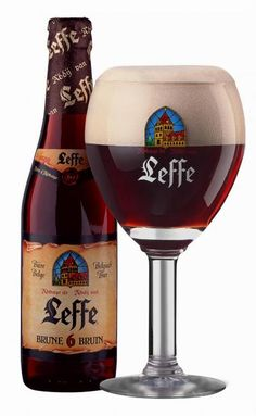 Leffe Brune, Belgian style Abbey Beer, so smooth...