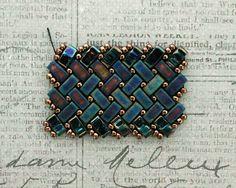 Linda's Crafty Inspirations: Half Tila Herringbone Bracelet