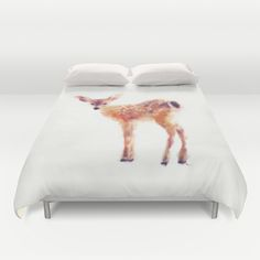 Fawn duvet cover on Society 6