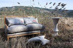 Outdoor Sofa, Outdoor Furniture, Outdoor Decor, Exterior, Showroom, Fabrics, Magic, Design, Home Decor