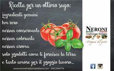 Ricetta speciale... #neronitradizioneitaliana #madeinitaly #ciboitaliano #trasformazione #creme #patè #sughi #ricette