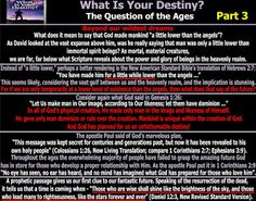 They follow the Lamb wherever he goes: What Is Your Destiny? The Question of the Ages- Pa...