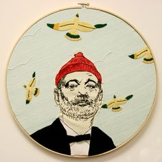 Stitched Bill Murray