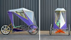 'The project challenge was to design a DIY build system for a velomobile from easy-to-sour...