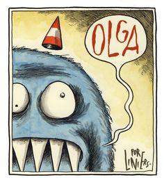 Liniers Children's Comics, Ligne Claire, Humor Grafico, Kawaii, Vintage Comics, Illustrations Posters, Make Me Smile, Hand Lettering, Graphic Art