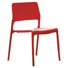 Found it at AllModern - Spark Side Chair in Red