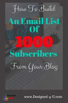 How to build a list of 1000 subscribers from your blog Email Marketing Strategy, Marketing Tactics, Business Marketing, Content Marketing, Internet Marketing, Affiliate Marketing, Online Marketing, Online Business, Marketing Tools