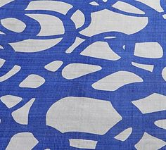 Watery graphic on a Paola Navone Collection rug at Crate & Barrel
