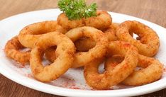 Anéis Temperados de Cebola – Onion rings