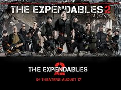 The Expendables 2   Official Site   In Theaters August 17  http://theexpendables2film.com/    The Expendables are back and this time it's personal... Watch the trailer for The Expendables 2, in theaters August 17!