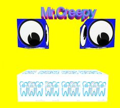 Did you have a hectic day? Get cheered up by Mr. Creepy! #poweredbyher #girlsintech #girlsinsteam #girlswhocode #app Project by:Samantha Mosley
