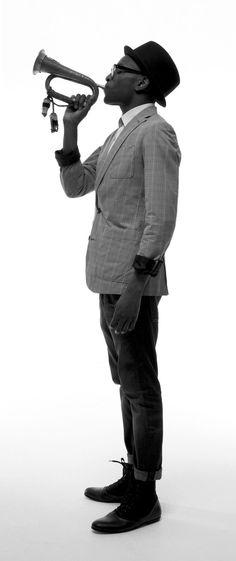 Sharp look. Stylist/Model: Harris Elliott | Photographer: Donald Christie