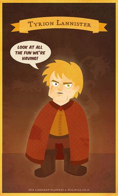 Tyrion Lannister - A song of Ice and Fire