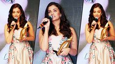 WoW !😍😍  Adorable Stunning FULL #Speech From #AishwaryaRai At #OutlookBusiness Outstanding #WomenAwards 2016