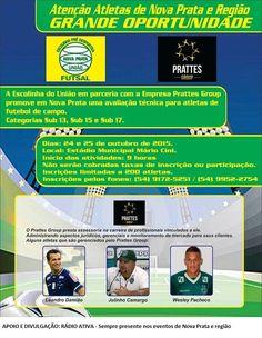 Rádio Web Mix Esporte&Som: Nova Prata: Avaliação técnica para jovens atletas ...
