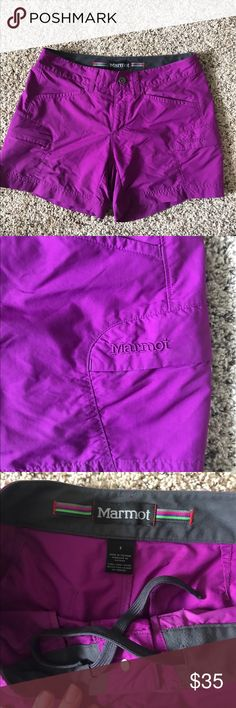 Marmot Shorts Size 6 - 4in inseam Marmot hiking shorts- size 6 with 4 in inseam. Excellent condition. Marmot Shorts