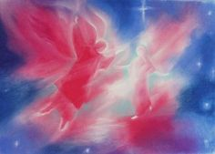 Spirit Conception ~ in pastels, movingthesoulwithcolor.com