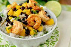 Healthy Shrimp Bowl   Food Galore!