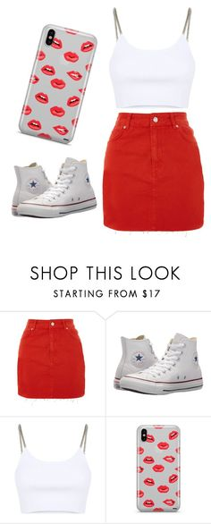 """Untitled #5"" by kacis-kacis on Polyvore featuring Topshop, Converse, Alexander Wang and Samsung"