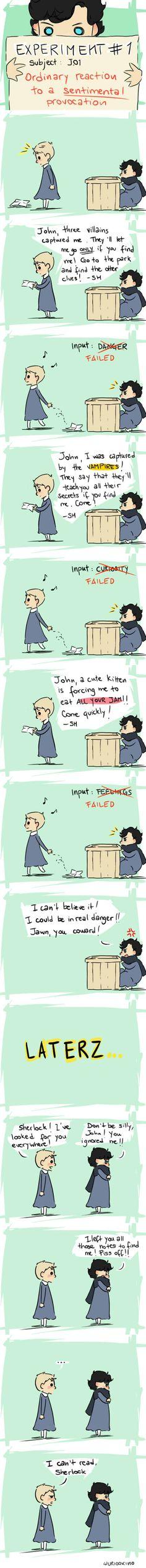 John an Sherlock as kids. How cute!