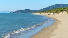 Roccamare beach Maremma Tuscany Italy.
