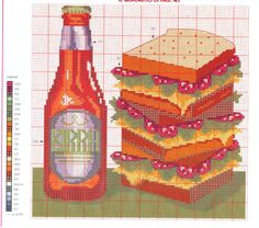Cross Stitch *♥* Kitchen
