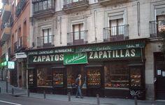 Calzados Carballo. Calle de Toledo. Madrid